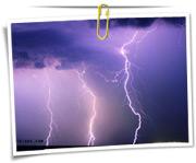 گالری عکس رعد و برق